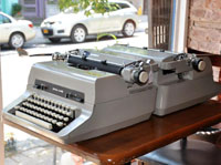 Repairing Typewriters in Staten Island: 2 Gray Models