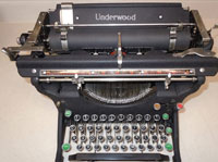 One of Our Classic Typewriters in Staten Island - Black
